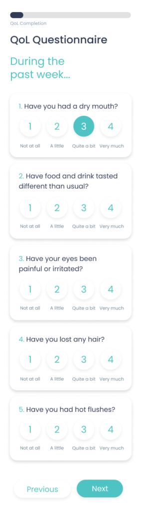 User Experience design of the FAITH App: high-fidelity mock-ups